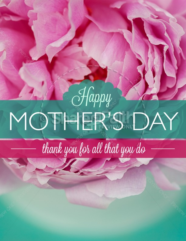 Mothers Day Beautiful Mother'S Day Flyer Template | Flyer Templates