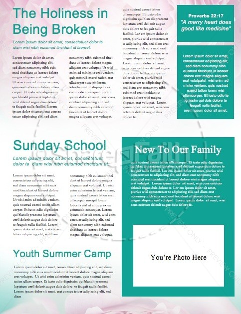 Mothers Day Beautiful Mother's Day Church Newsletter