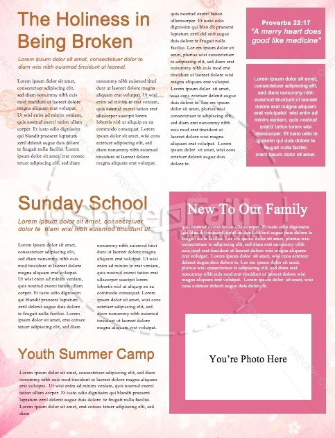 Happy Mother's Day Christian Newsletter