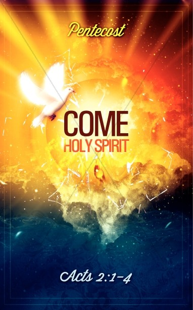 Pentecost Come Holy Spirit Ministry Bulletin