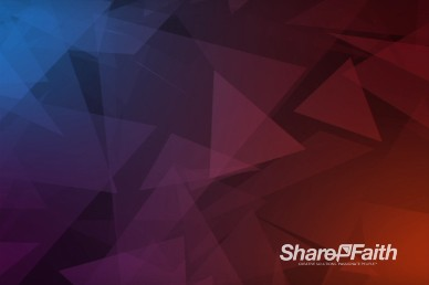 Abstract Triangles Purple Christian Motion Background Video