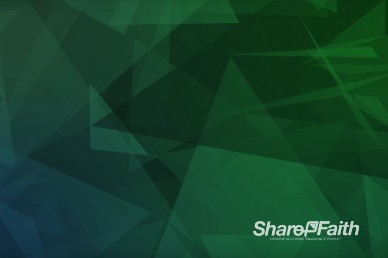 Abstract Triangles Teal Christian Motion Background Video