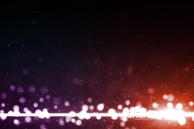 Colorful Particles Purple Orange Worship Video Background