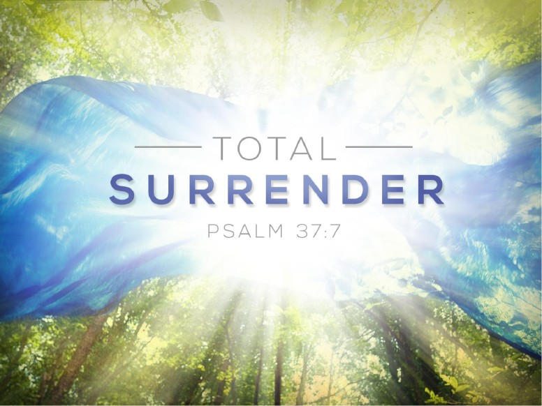 Total Surrender Christian Sermon PowerPoint
