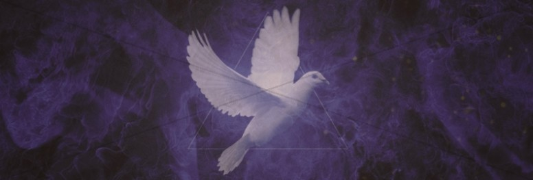 Pentecost Holy Spirit Religious Website Banner