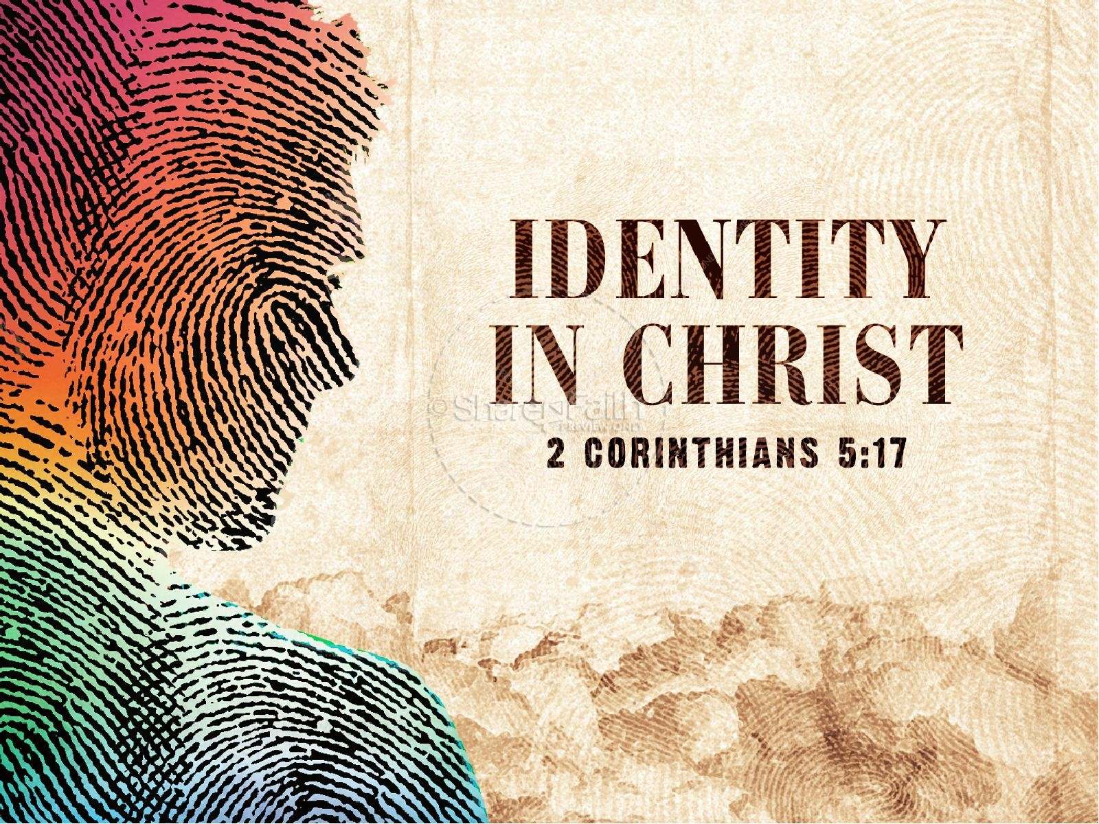 Identity in christ church powerpoint powerpoint sermons identity in christ church powerpoint toneelgroepblik Images