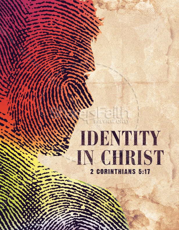 Identity in Christ Ministry Flyer | page 1