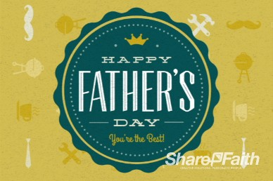 Happy Fathers Day Video for Fathers Day Events