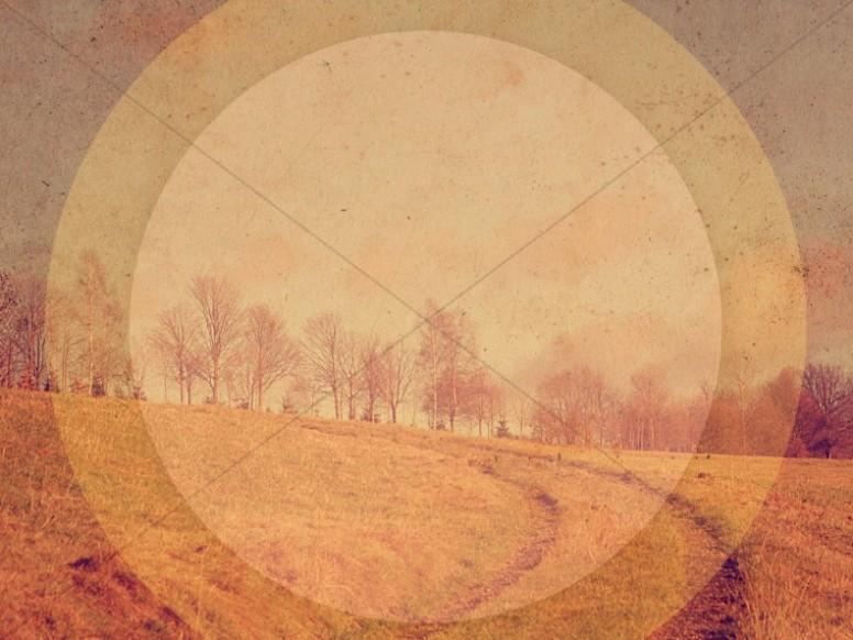 Path Through Fields Religious Stock Photography