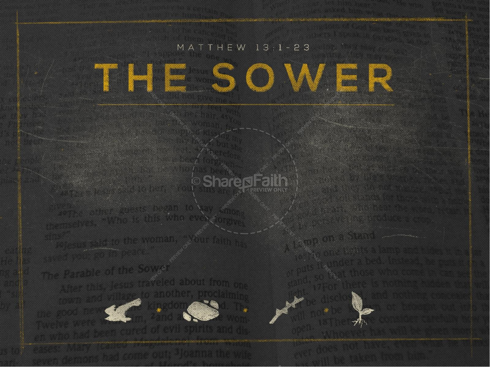 The Sower Ministry PowerPoint