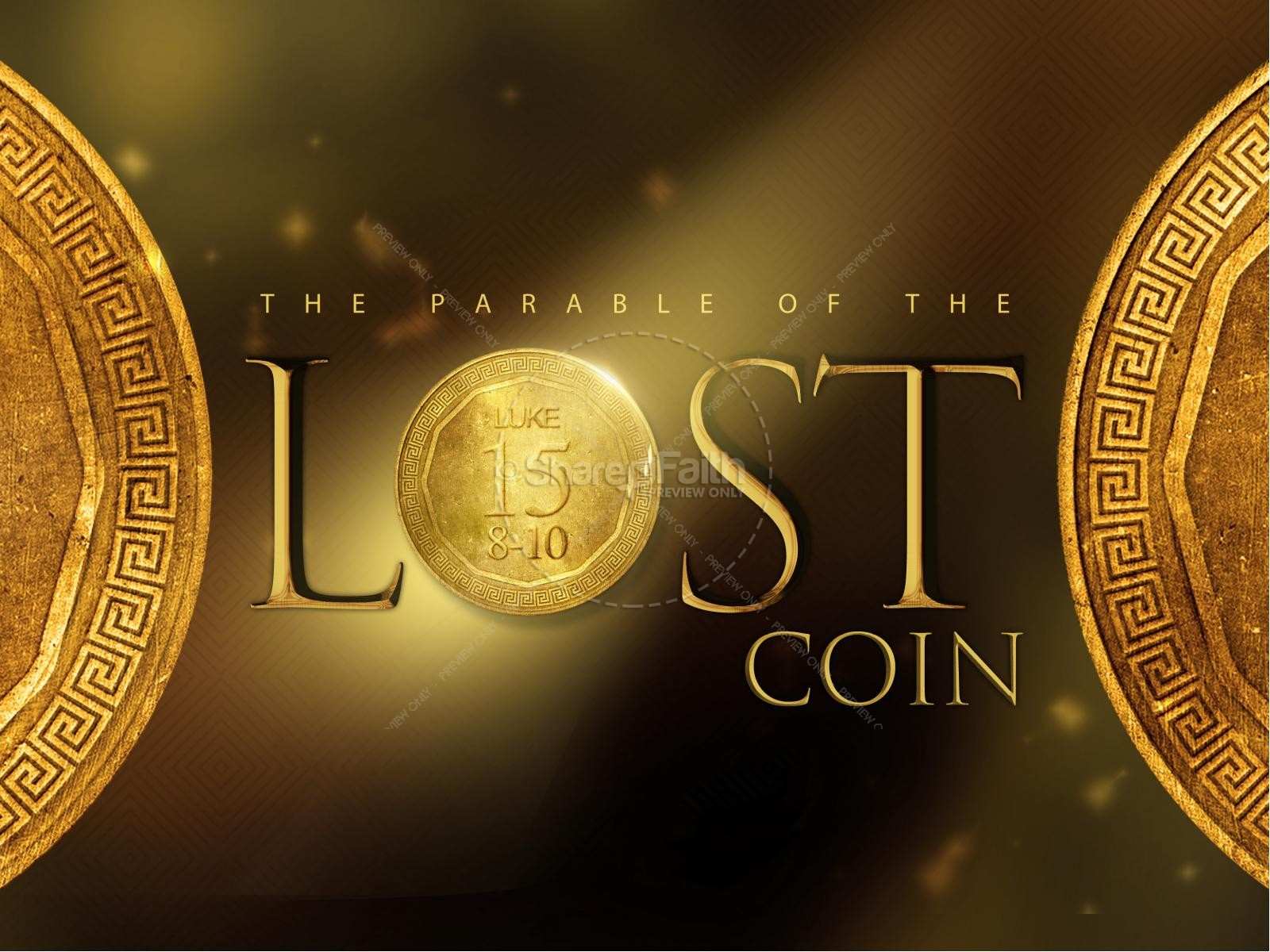 The Lost Coin Religious PowerPoint
