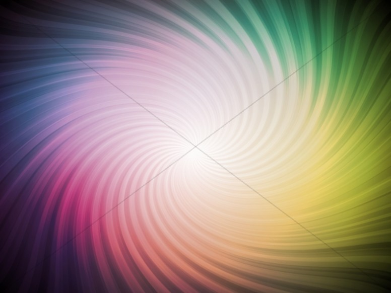 Abstract Fanned Rainbow Image Ministry Background
