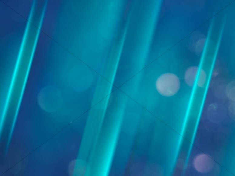 Abstract Blue Light Orbs Ministry Background