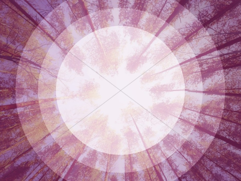 Abstract Purple Target Ministry Background Image