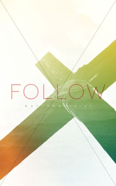 Pick Up Cross and Follow Me Ministry Bulletin