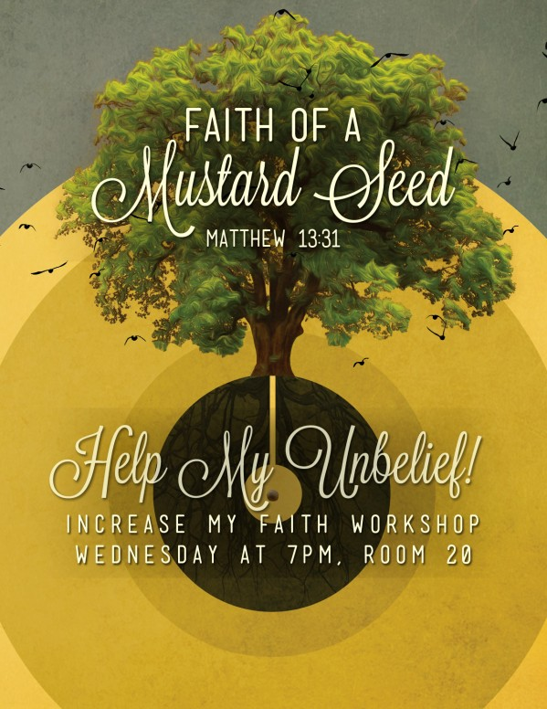 Faith of a Mustard Seed Religious FLyer