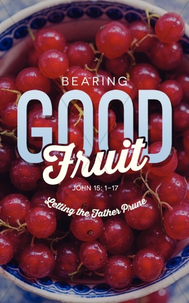 Bearing Good Fruit Religious Bulletin