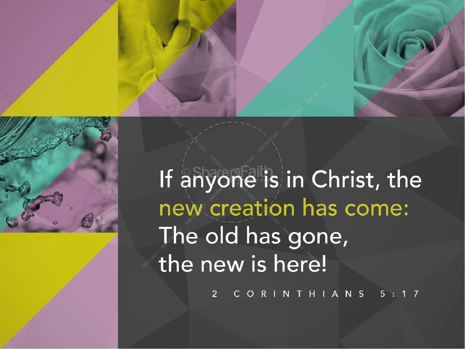The New Has Come Christian PowerPoint | slide 4