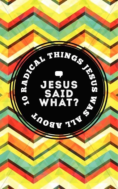 Jesus Said What Christian Bulletin