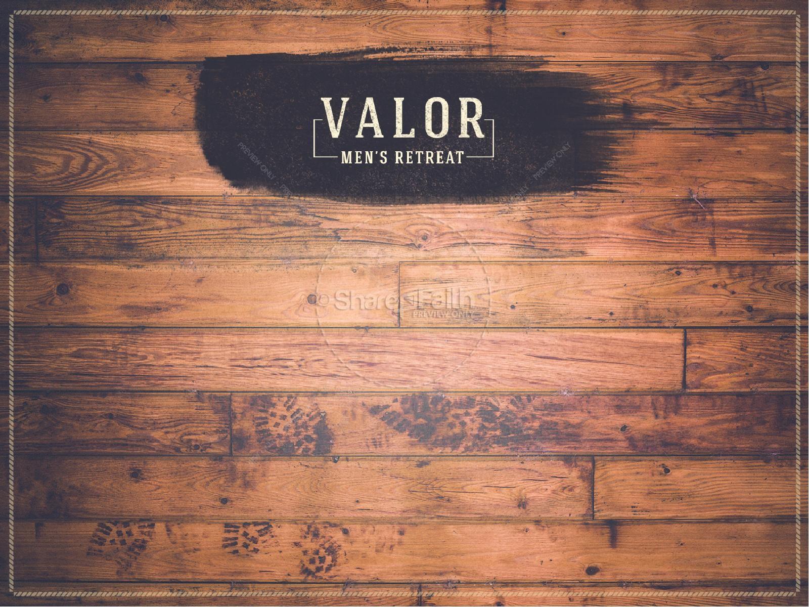 Valor Men's Retreat Ministry PowerPoint | slide 3