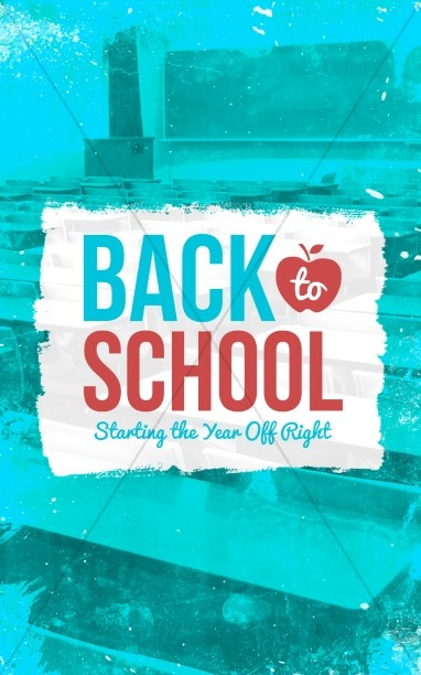 Back to School Christian Bulletin