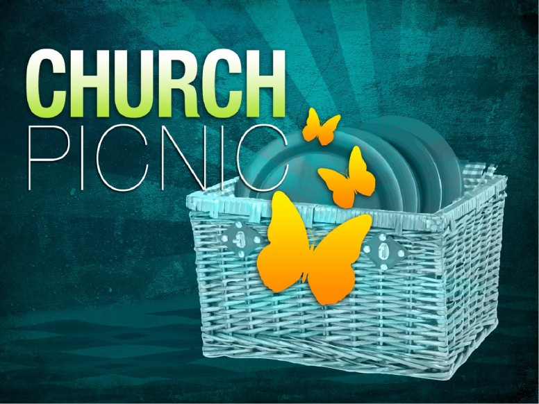 Church Picnic Religious PowerPoint