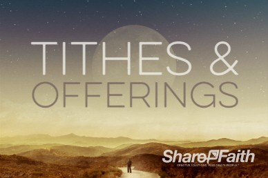 Proverbs 3 Pathway Tithes and Offerings Dessert Video Loops