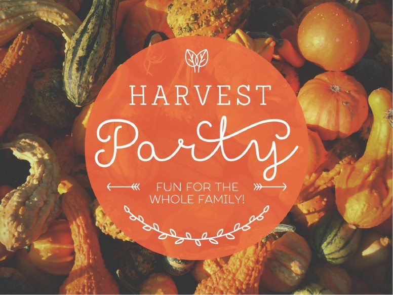 Harvest Party Christian PowerPoint