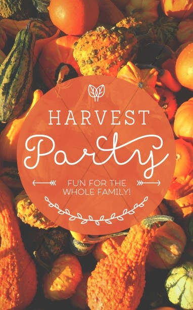 Harvest Party Christian Bulletin