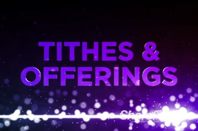 Dancing Particles Ministry Tithes and Offerings Video