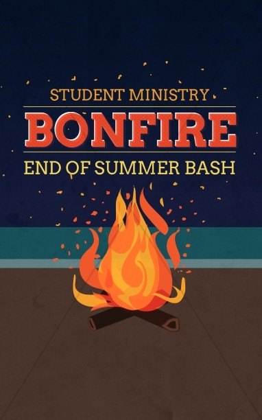 Bonfire Summer Bash Christian Bulletin