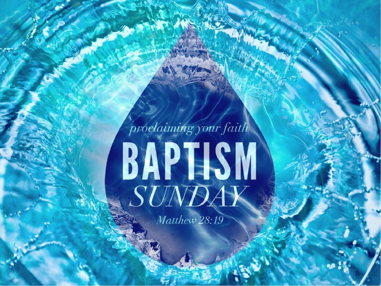 Baptism Sunday Christian PowerPoint