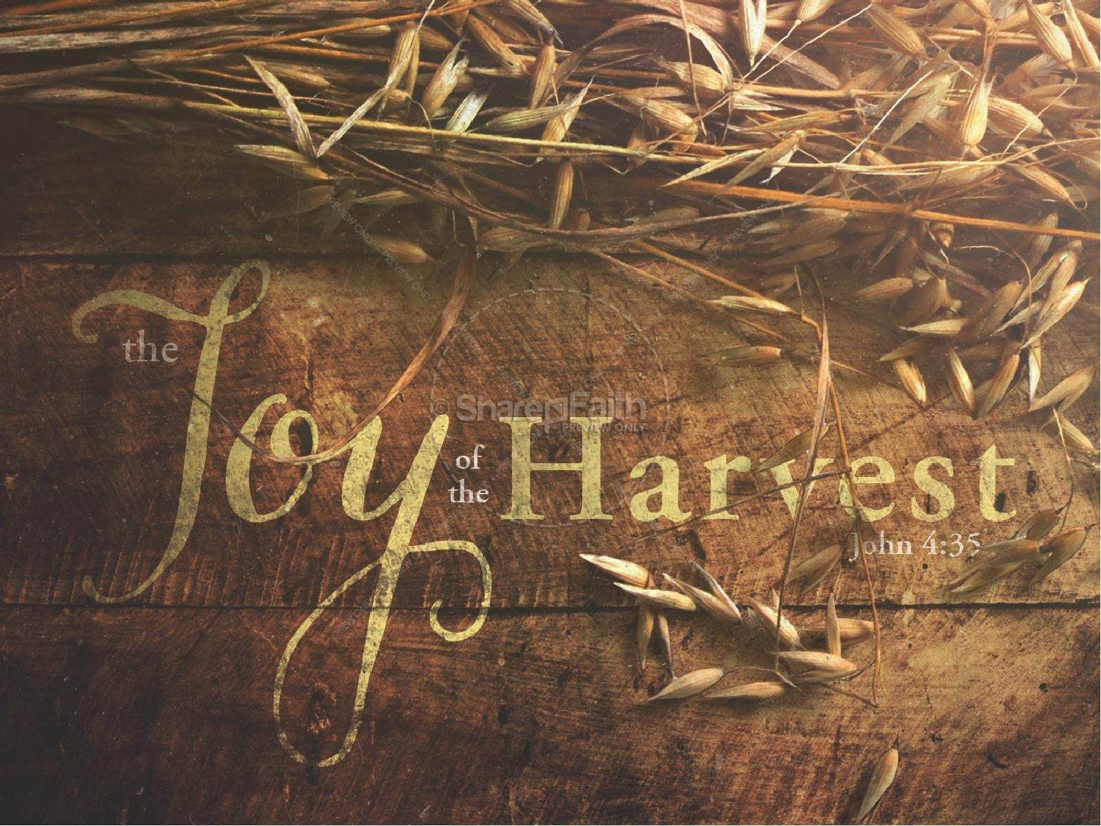 Joy of Harvest Ministry PowerPoint
