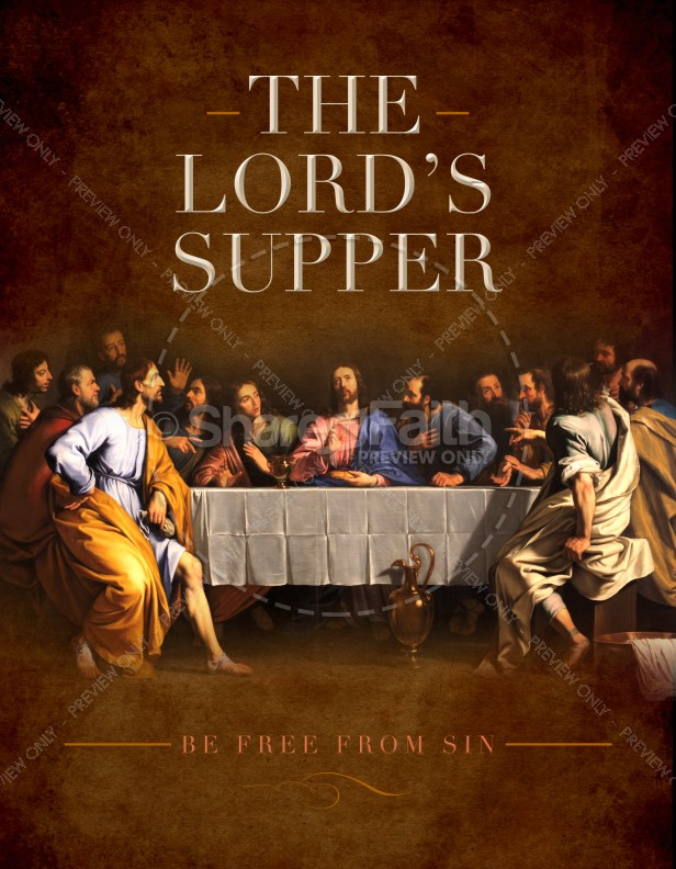 The Lord's Supper Ministry Flyer