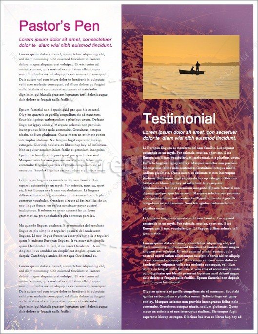 The Beginning of the End Christian Newsletter | page 3