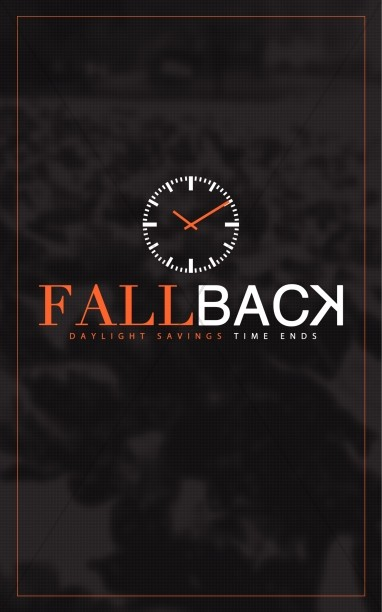 Fall Back Daylight Savings Ministry Bulletin