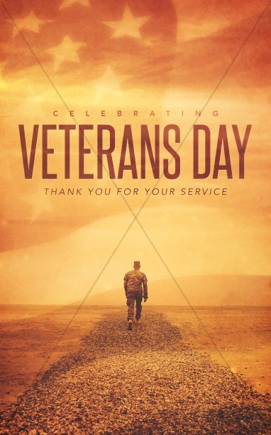 Celebrating Veteran's Day Christian Bulletin