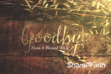 Joy of Harvest Church Goodbye Background Video Loop
