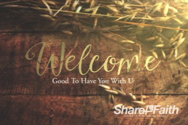 Joy of Harvest Church Welcome Video Background