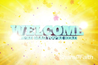 Kids Church Ministry Welcome Background Video