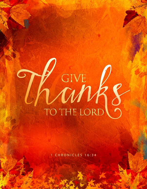 Give Thanks Christian Flyer