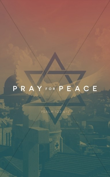 Pray for the Peace of Israel Religious Bulletin