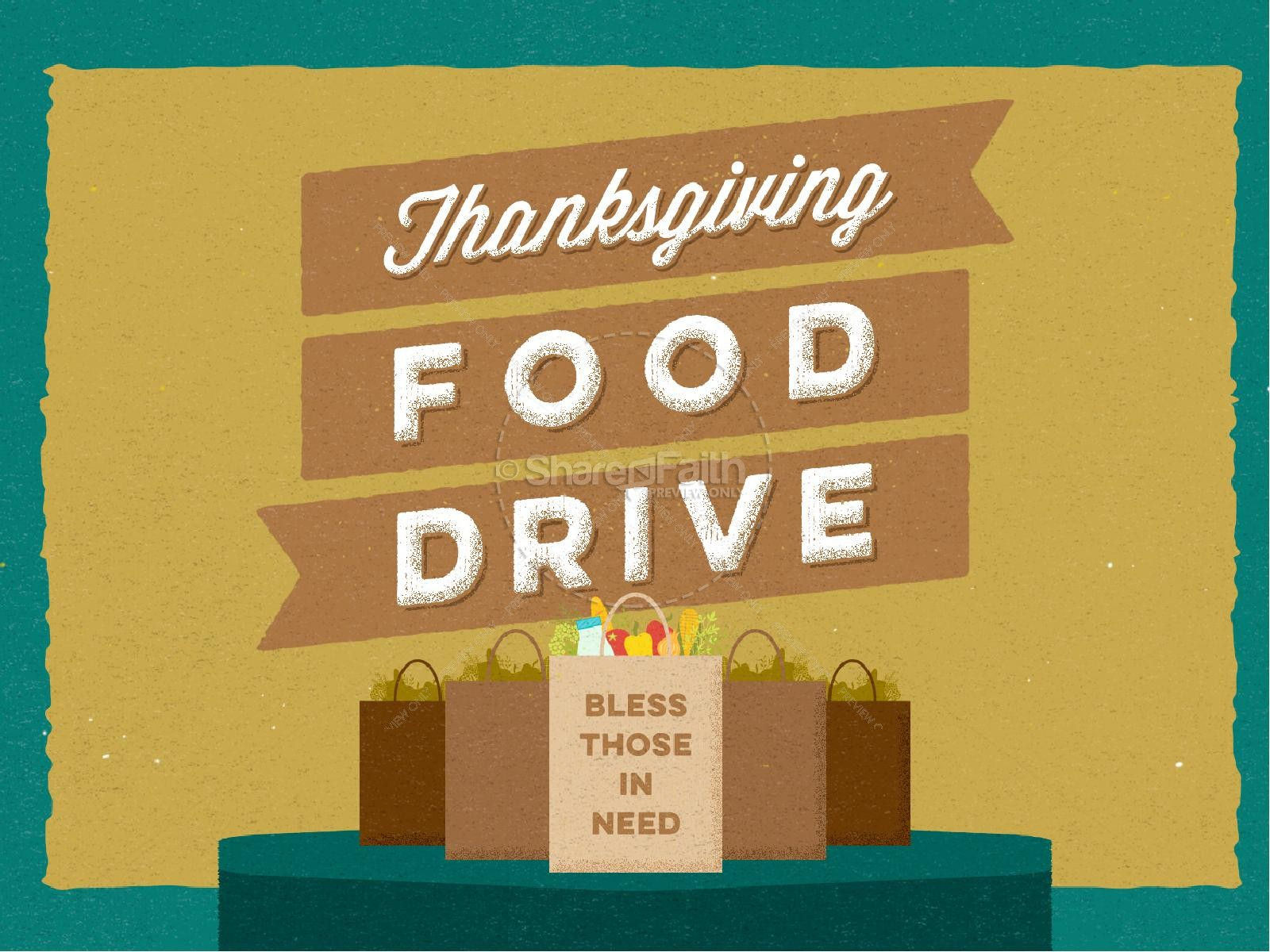 thanksgiving food drive christian powerpoint fall thanksgiving powerpoints. Black Bedroom Furniture Sets. Home Design Ideas