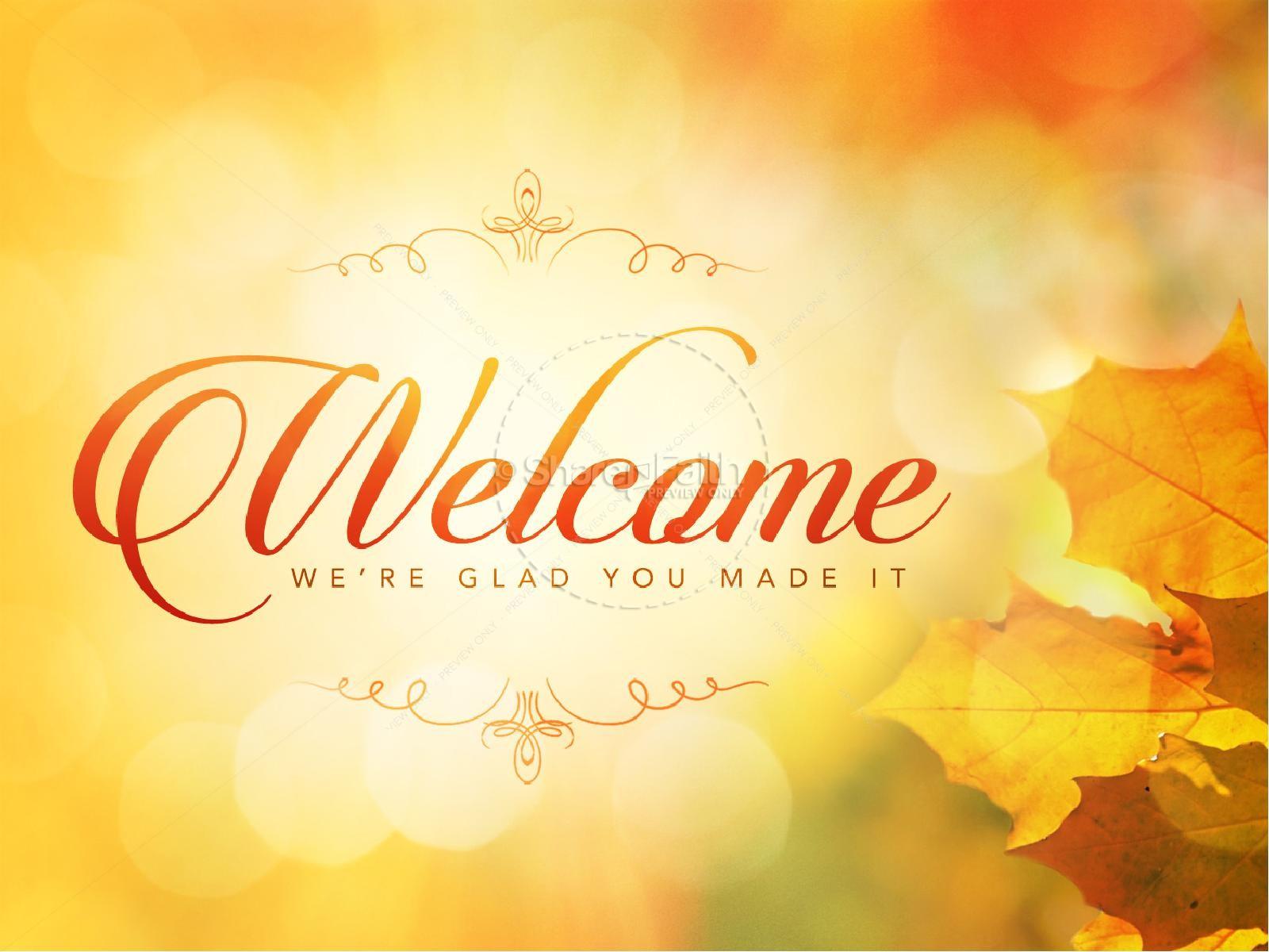 Thanksgiving Celebrate God's Goodness Christian PowerPoint | slide 2