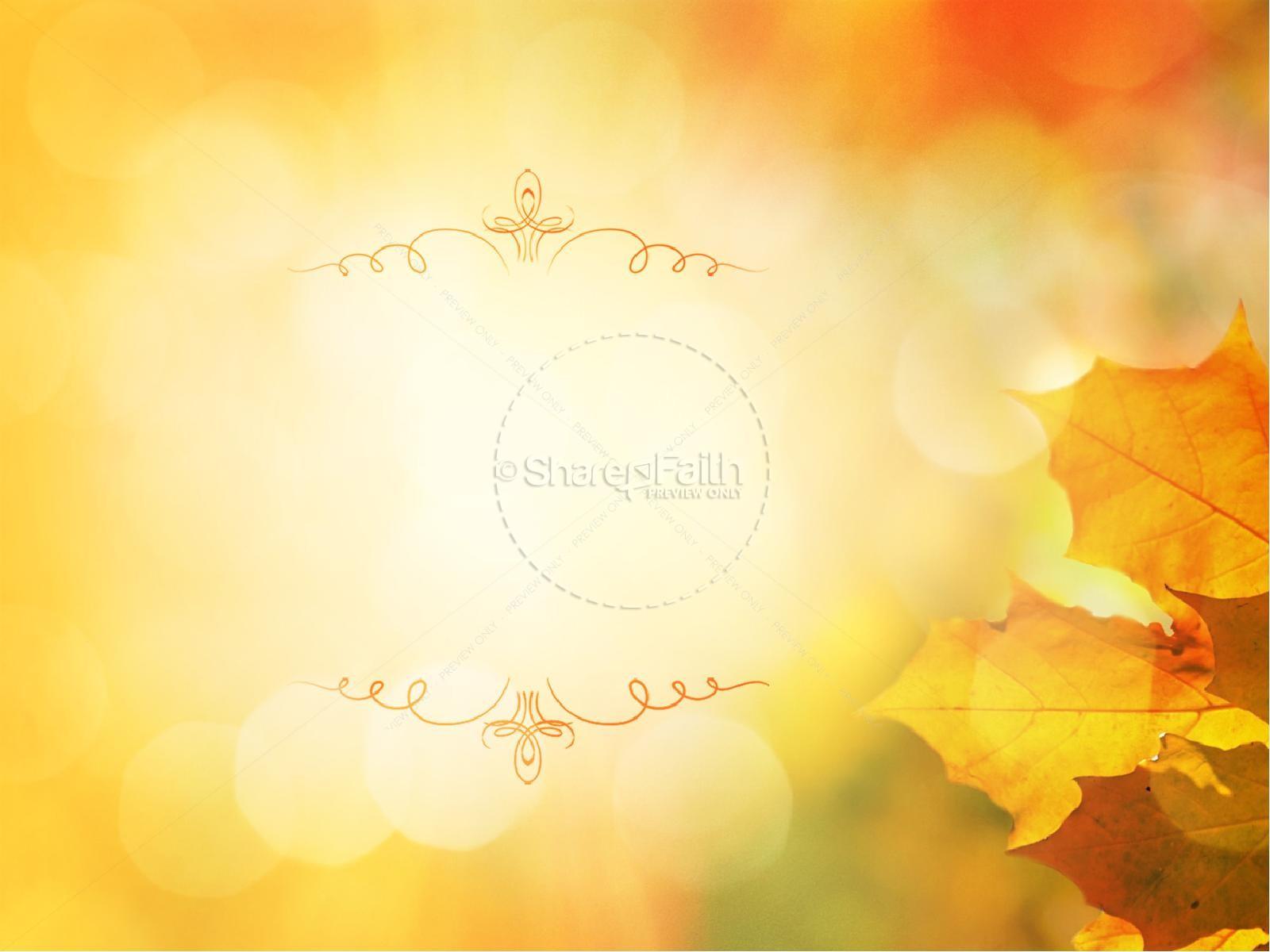 Thanksgiving Celebrate God's Goodness Christian PowerPoint | slide 5