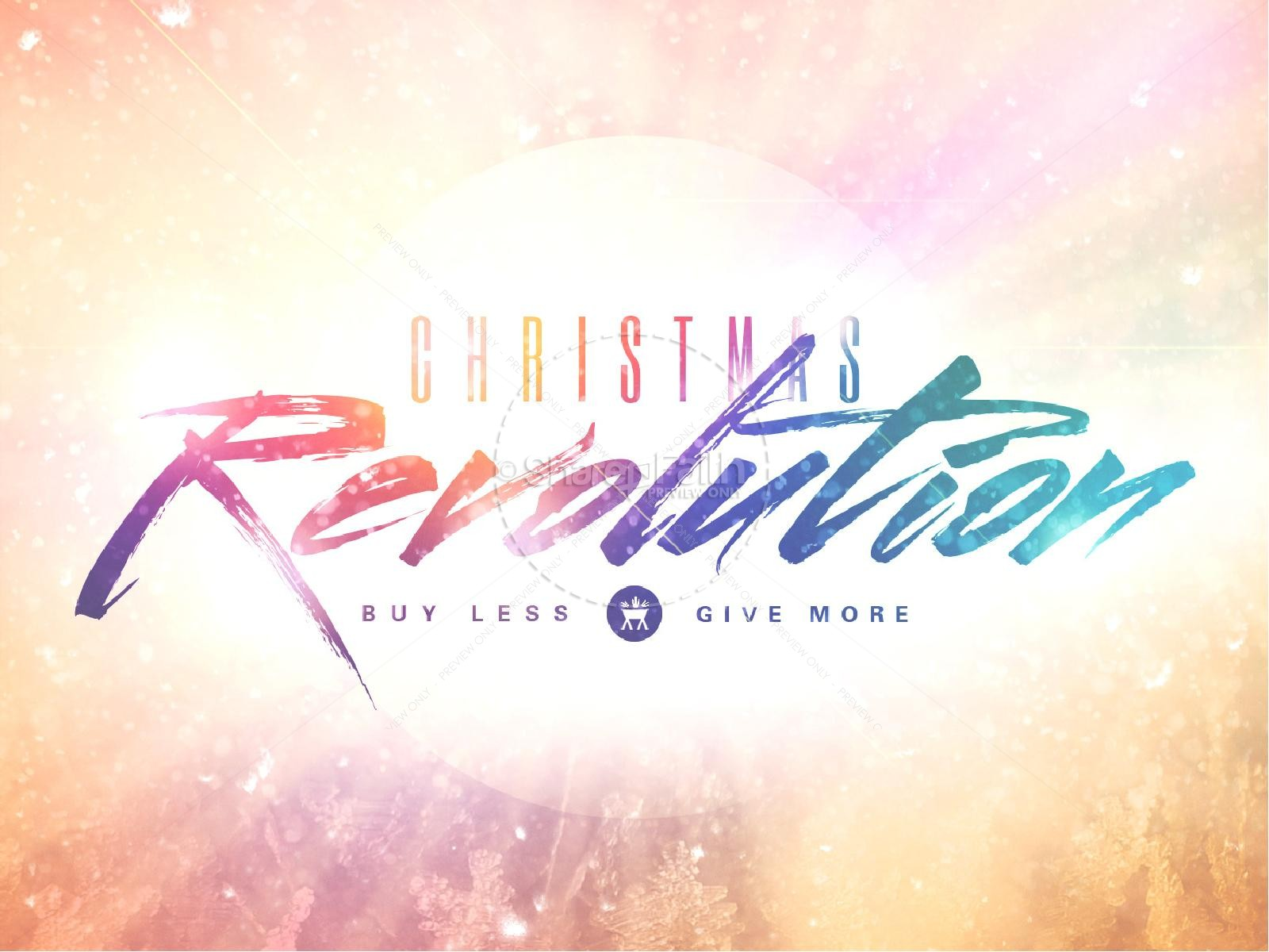 Christmas Revolution Ministry PowerPoint