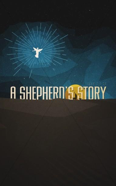 A Shepherd's Story Christian Bulletin