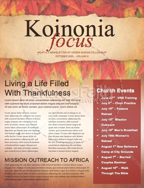 Come with thanksgiving christian newsletter template newsletter come with thanksgiving christian newsletter spiritdancerdesigns Images