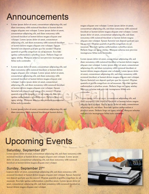 Come with Thanksgiving Christian Newsletter | page 4