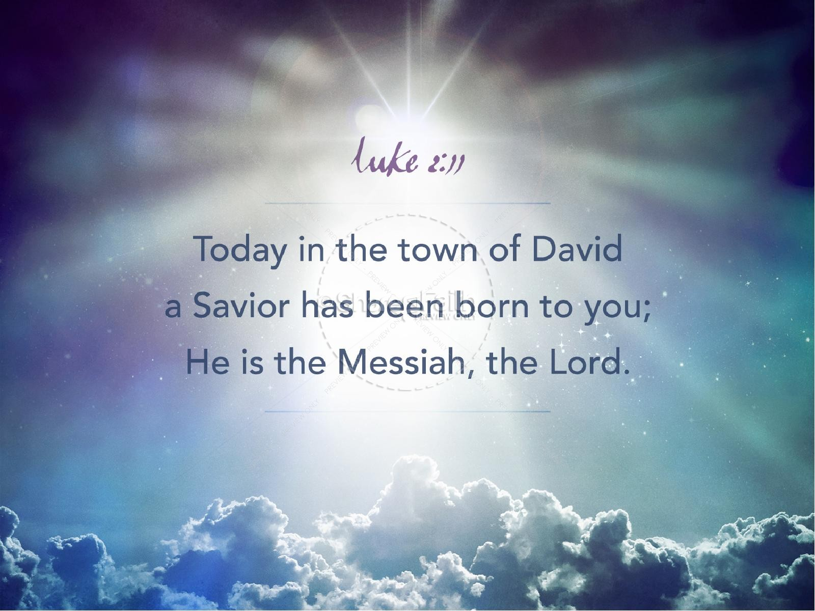 Hope is Born Ministry PowerPoint | slide 4
